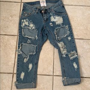 One teaspoon lonely boys slouch jeans